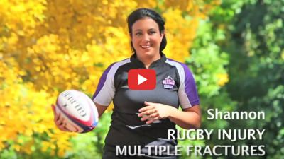 Shannon's rugby injury video